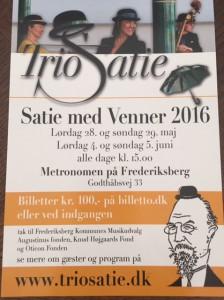 Trio Satie Festival 2016
